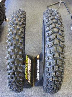 703 Kold Kutter Ice Tire Set with Liners Kenda Bridgestone