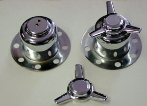 4 Wheel Spinners Derby Center Caps 8 Lug 8x6 5 for Dodge Ford Chevy Truck 5 1
