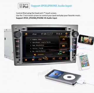 "7"" Car DVD CD Radio Stereo Player GPS iPod  for Opel Vauxhall Astra Head Unit"