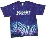 Hoosier Race Tire Tie Dye T Shirt Sprint Car Modified