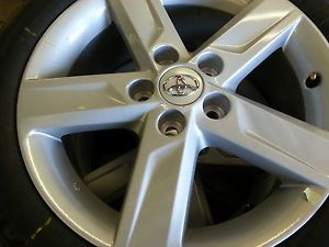 "Camry Factory Wheels Tires 17"" Bridgestone"