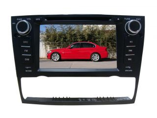 "7"" Car Stereo DVD Player GPS for BMW E90 E91 E92 E93 3 Series iPod Radio Camera"