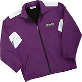 Hoosier Race Tire Purple Banbury Jacket Sprint Car