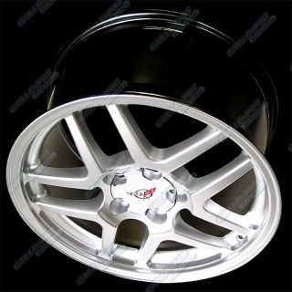 "18x9 5"" Corvette ZO6 Styel Replica Wheel Rim 4 Pcs"