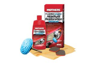 Headlight Restoration Kit Auto Car Glass Cleaners Mothers Brand New 07250