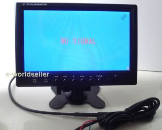 "9"" inch LCD Monitor for Car Rear View Reverse Camera Cam Monitor"