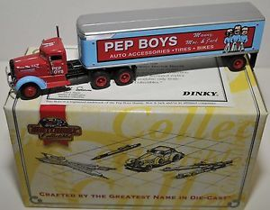 Matchbox Collectibles 1939 Peterbilt Tractor Trailer Pep Boys Auto Parts