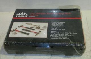 Mac Tools 7 PC Fiberglass Handle Auto Body Repair Tool Set BTS7F