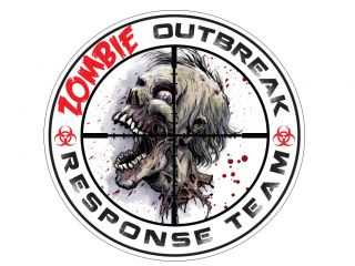 Zombie Outbreak Response Team Decal Sticker 5""