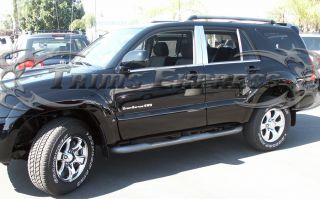 03 08 Toyota 4 Runner 4Runner 6pc Chrome Pillar Post