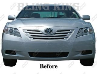 2007 2009 Toyota Camry Chrome Grille Grill Insert New
