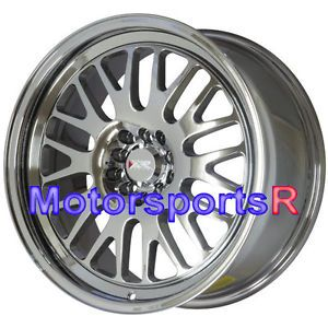 18 18x8 5 XXR 531 Platinum Chrome Wheels Rims 5x120 09 10 11 12 13 Acura TL RL