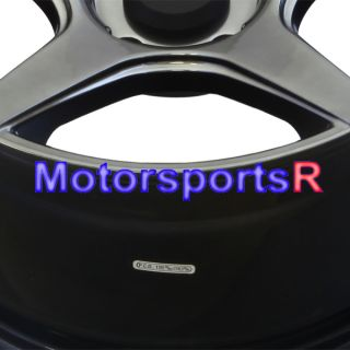 16 16x8 XXR 535 Chromium Black Concave Wheels Rims 5x114 3 06 Acura RSX Type S