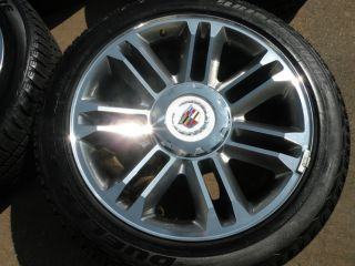 "22"" Cadillac Escalade Platinum Wheels Factory Tires 2014 Tahoe Suburban"