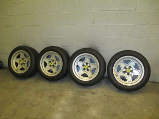 Ferrari 308 Quattrovalve Factory Wheels Tires Must See Great Condition