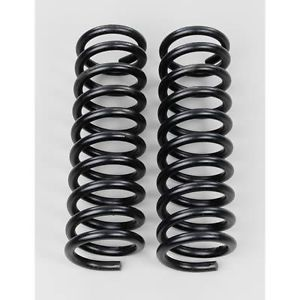 Moog Chassis Parts Coil Springs Replacement Front Black Vinyl Coated Toyota Pair