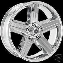 20 inch Chrome IROC Wheel Rim Chevy Camaro Z28 Trans Am