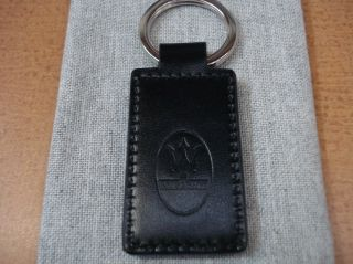 Official Maserati Leather Key Ring 920002361