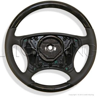 Mercedes Benz s Class W220 CL Class C215 Wood Leather Steering Wheel New