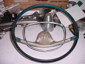 1957 Plymouth Steering Wheel 58 Dodge Power