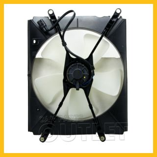 1992 1996 Toyota Camry 2 2L 4 Cyl SE XLE Radiator Cooling Fan Blade Motor Shroud