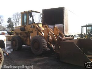 Fiat FR11 Wheel Loader w Custom Bucket and Forks