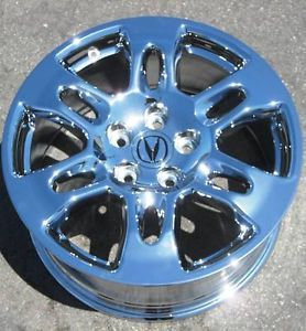 "Exchange Your Stock 4 New 18"" Factory Acura MDX Chrome Wheels Rims 71759"