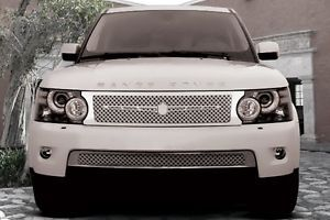 Land Rover Range Rover Tiarra Custom Complete Chrome Dual Mesh Grille Grill Kit