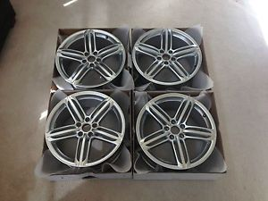 Audi S4 Factory Wheels Rims 19 inch 5 Segment Spoke Design 58840 ALY58840