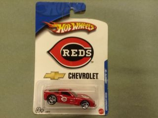 Hot Wheels Cincinnati Reds Corvette