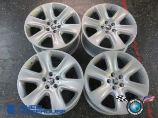 "Four 09 12 Jaguar XF Factory 18"" Wheels Rims 59836 8x23 1007 Ba Cygnus"
