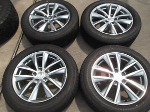 "17"" 2014 Infiniti Q50 Factory Wheels Tires Rims G25 G35 G37 Nissan Maxima"
