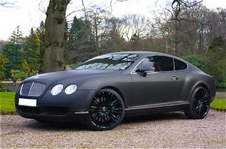 Bentley Continental GT Flying Spur SPEED BLACK 20 inch WHEELS
