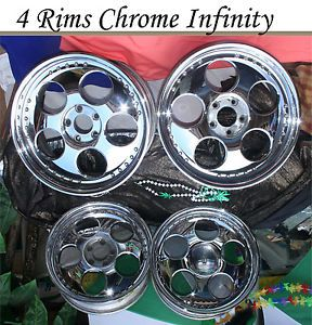 2003 Infinity Chrome Vehicle Rims Wheels Four 18 inch Lexus Toyota Camry