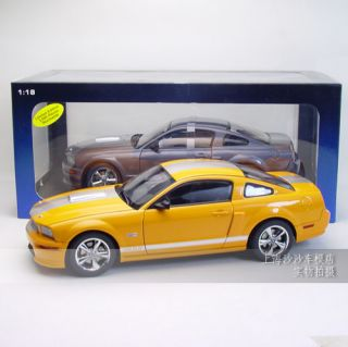 1 18 Autoart Ford Mustang Shelby GT Coupe 07 Orange Apperance PK 73117 FreeShip