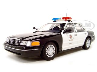 Ford Crown Victoria LAPD Car Police 1 18 Autoart