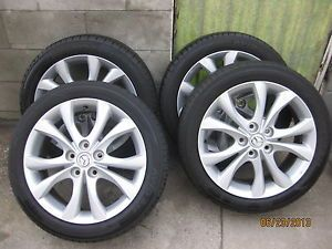 "2010 Mazda 3 Original OE 17"" Rims Wheels and Tires 10 Mazda3 17x7"