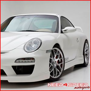 "19"" Porsche 911 997 Carrera 4S Turbo s Wide Ruger Silver Concave Wheels Rims"