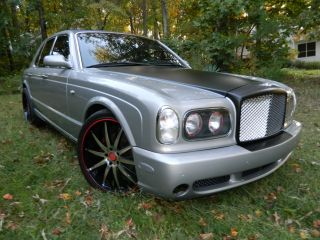 "Bentley Arnage Off Set 22"" Rims and Tires"