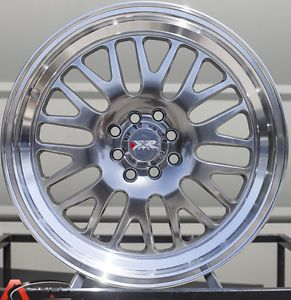 17x9 XXR 531 4x114 3 25 Chromium Black Wheels Fit VW Honda Scion