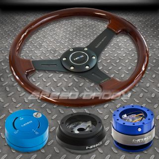 NRG Wood Steering Wheel Hub Quick Release 101NB Lock Kit MR2 Supra Scion TC XB