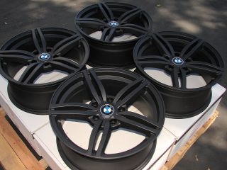 17 5x120 Matte Black Wheels BMW 323 325 335 135 330 318 328 3 Series Acura Rims
