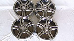 "Acura Honda 17x7 5"" Gunmetal A Spec TSX RSX TL Wheels Rims Factory New"