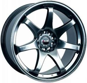 18 XXR 522 Black Rims Wheels 18x8 5 48 5x100 Subaru WRX Impreza Forester TC