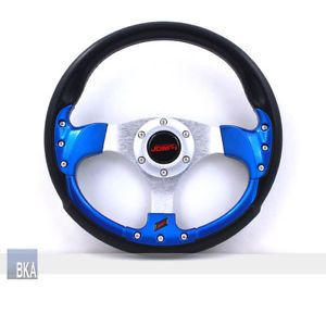 Honda Acura RS Type 320mm 6 Hole JDM Style Racing Steering Wheel