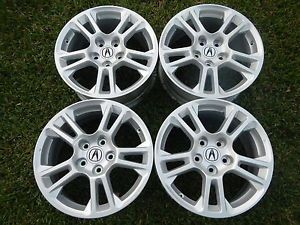 Acura Honda 17x8 Metallic Silver TL Odyssey Wheels Rims Factory New Set