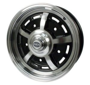 Empi Sprintstar 5x15 5 Lug Black Wheel VW Type 1 2 3
