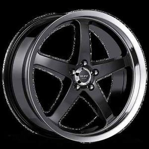 "18"" Ruff Racing R357 Rims Wheels 5x112 Mercedes Benz Audi VW Crossfire"