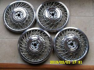Original 1984 Cadillac DeVille Wire Wheels