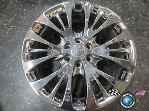 "One 07 12 Cadillac Escalade Factory 22"" Chrome Wheel Rims 4617 CK366"